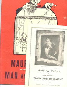 Hanna Theatre'48, G.B.Shaw/Maurice Evans