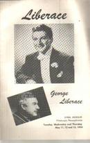 Liberace & Bro George May 1954 Syria Mosque