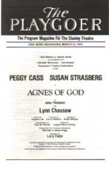 Susan Strasberg in Agnes of God 3/1984