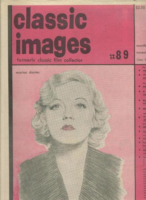 Classic Images-Vintage Film Cinema #89, 11/82