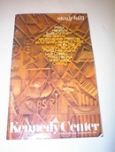 stagebill Kennedy Center performing art 12/85