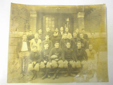 1910 B/W Photo of Tilton Football Team
