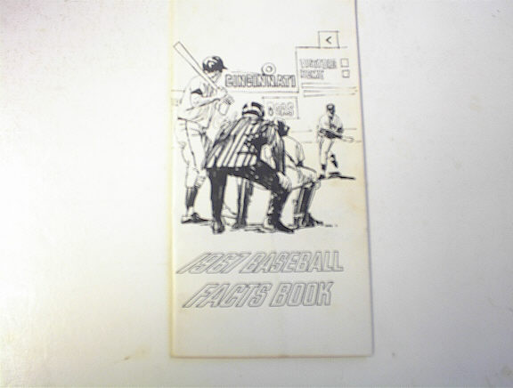 1967 Baseball Facts Book 31st Annual Edition