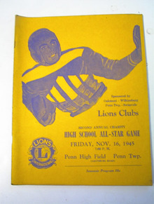 Lions Club High School All Star Game 11/16/45