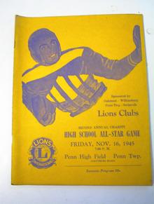 Lions Club High School All Star Game 11/16/45