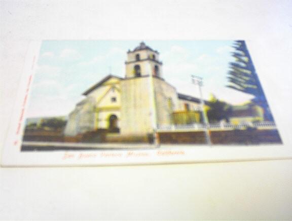 1910 San Buena Ventura Mission.California