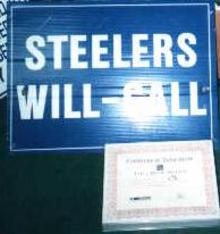 Signage From Three Rivers Stadium!