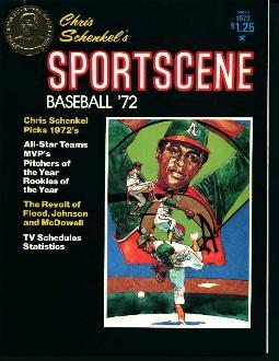 Chris Schenkels Sports Scene Baseball 1972!