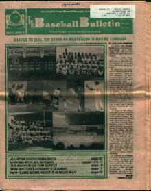 BaseballBulletin- From September 1977!