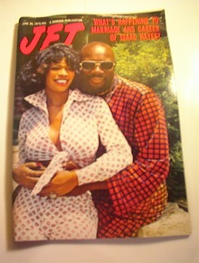 JET Magazine,6/26/75.Isaac Hayes and Wife cov