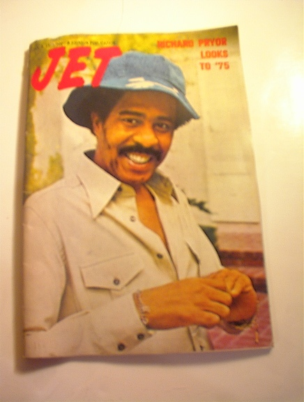 JET Magazine,1/9/75.Richard Pryor cover