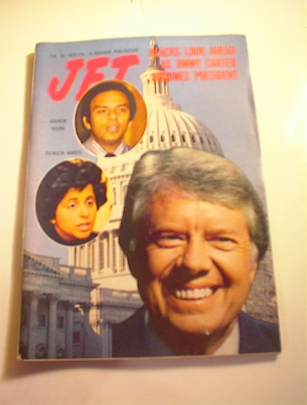 JET Magazine,2/10/77. Jimmy Carter cover