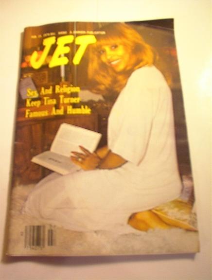 JET Magazine,2/15/79. Tina Turner cover