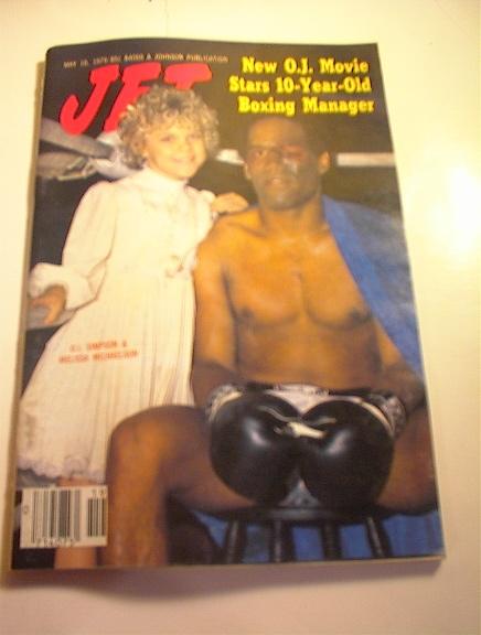 JET Mag,5/10/79.O.J. & Melissa Michaelson cov