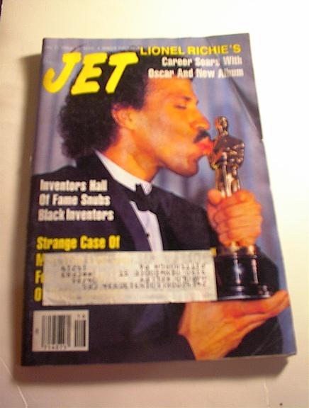 JET Magazine,4/21/86,Lionel Ricihie cover