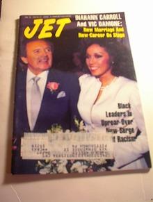 JET Mag,1/26/87,Diahann Carrol & Vic Damone