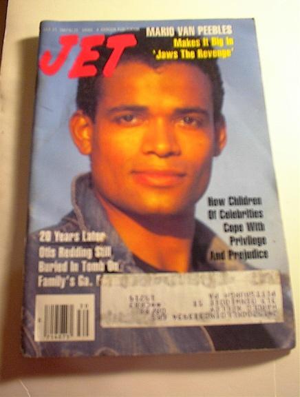 JET Magazine,7/27/87,Mario Van Peebles cover