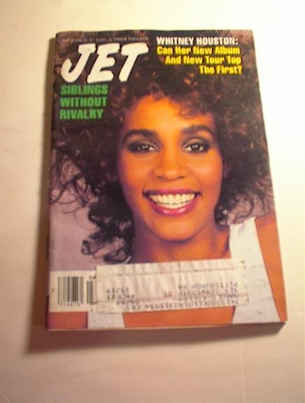 JET Magazine,6/6/87,Whitney Houston cover