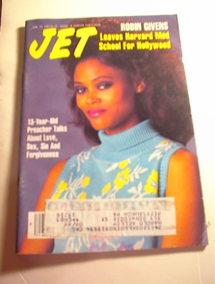 JET Magazine,6/29/87,Robin Givens cover