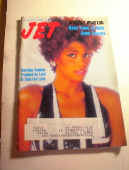 JET Magazine,6/20/88,Whitney Houston cover