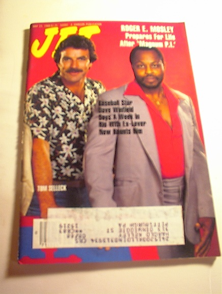 JET Mag,5/23/88,Roger E. Mosley/Tom Selleck