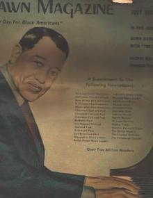 Dawn Magazine 7/74 Duke Ellington cover