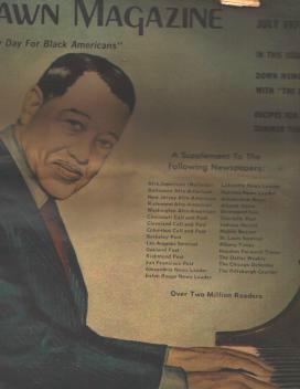 Dawn Magazine 7/74 Duke Ellington cover
