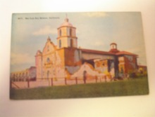 1910 San Luis Rey Mission,California