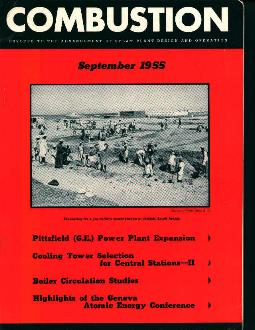 Combustion 9/55 Atomic Energy Conference