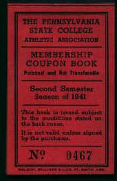 Baseball Tickets from 1941!