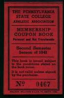 Baseball Tickets from 1941!