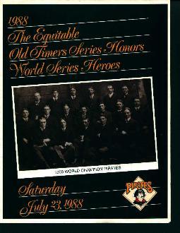 1988 Honor of World Series Heroes