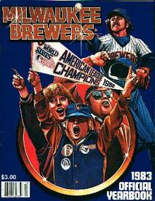 Milwaukee Brewers Yearbook 1983!