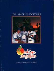 Los Angeles Dodgers 1985 Yearbook!