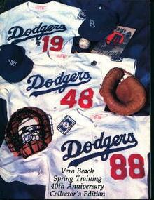 Vero Beach Dodgers 1988 Spring Training