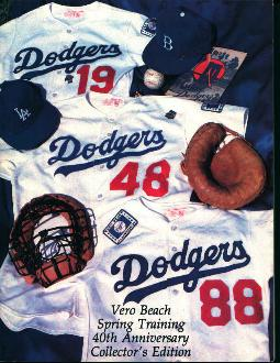 Vero Beach Dodgers 1988 Spring Training