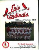 Erie Cardinals 1986 Souvenir Yearbook