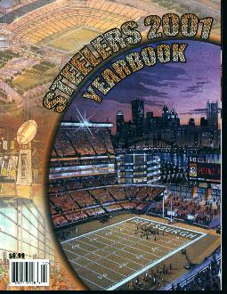 Pittsburgh Steelers 2001 Yearbook!