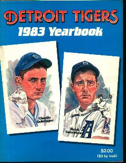 Detroit Tigers Yearbook 1983!