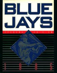 1985 Blue Jays Scorebook!
