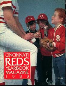 Cincinatti Reds Yearbook Magazine 1983!