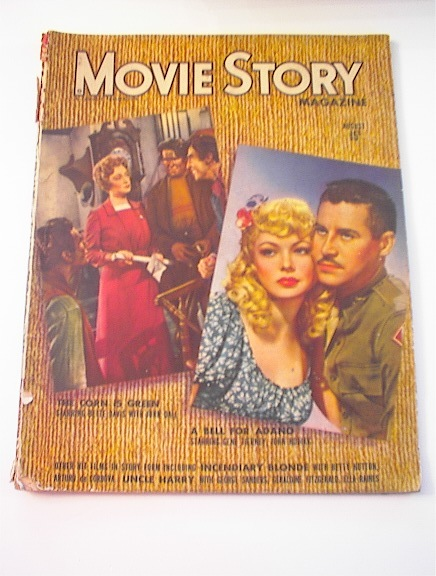 Movie Story Magazine,8/1945,Betty Davis