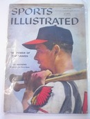 Sports Illustrated,6/2/58,Ed Mathews cover