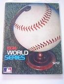 1974 World Series Program