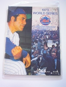 1973 World Series New York Mets vs Okland A's