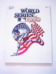 1980 World Series Program