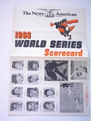 1966 World Series S-card Oilers vs Cardinals