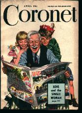 Coronet Magazine-4/49-Negro Problem Answered