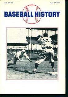 Baseball History Fall 1986