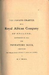 Royal African Company Charter